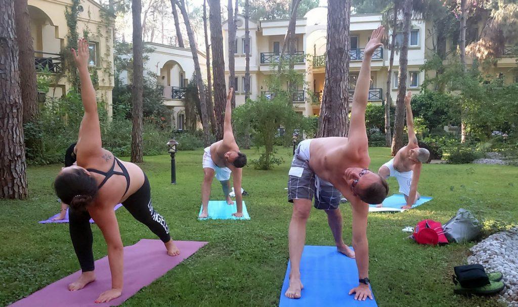Фото с йога семинара май 2017, Кемер, Турция